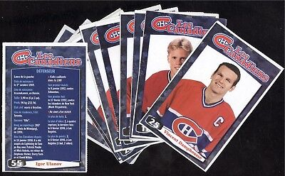 1998-99 Photo Montreal Canadiens Nhl Collection Hockey Magazine See List