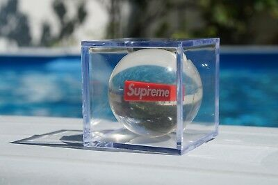 Supreme Bouncy Ball FW18 Exclusive Gift With Display Case 100% Authentic