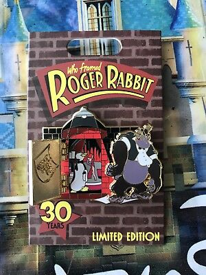 Disney Parks Who Framed Roger Rabbit Jessica Bongo 30 Years LE Pin In Hand 30th