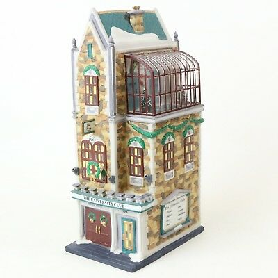 Department 56 1999 Christmas In The City The University Club #58945