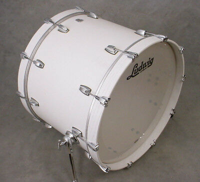 LUDWIG KEYSTONE X 22x16 SNOW WHITE BASS DRUM, MADE IN THE USA!
