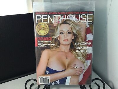 Penthouse  Magazine  May/June 2018 Stormy Daniels Factory Sealed Brand New