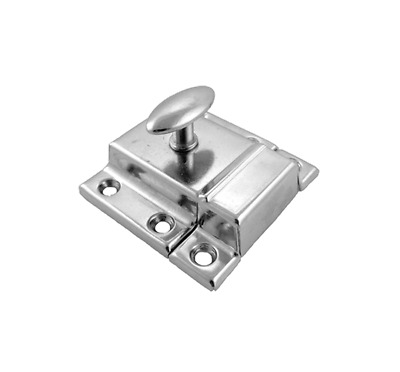 Vintage Style Cabinet Latch Nickel Plated