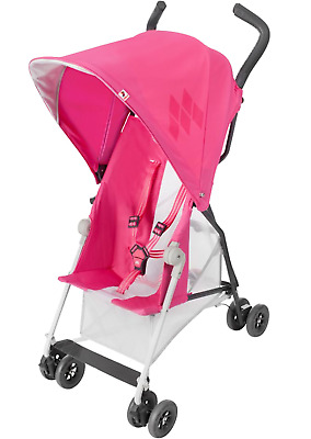 Maclaren Pink Mark II Lightweight Stroller buggy pushchair - Brand New
