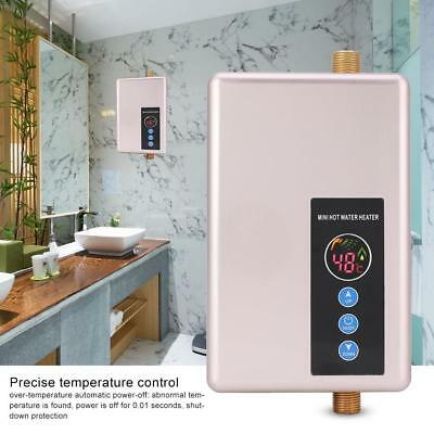 5500W Electric Hot Water Heater Portable Outdoor Camping Caravan Instant Shower