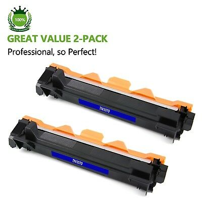 2 x Compatiable Toner TN1070 for Brother HL1110 HL1210W DCP1510 MFC1810