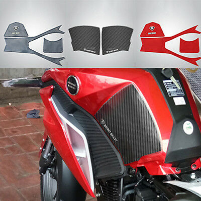 Motorcycle Waterproof Oil Gas Fuel Tank Pad Protector Sticker Decal Tags Paster