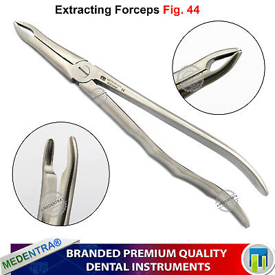MEDENTRA® Tooth Forceps Upper Roots Fig.44 Pince d'extraction Dents Surgical Lab