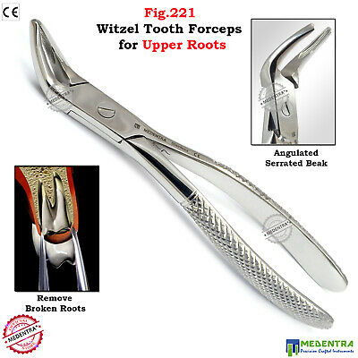 Forceps for Lower Roots No.44 Tooth Extraction Forcep Surgical Dental MEDENTRA®