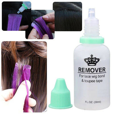 1 PC 30ML Adhesive Tape Remover for Tape Hair Extensions and Lace Wig Glue Bond