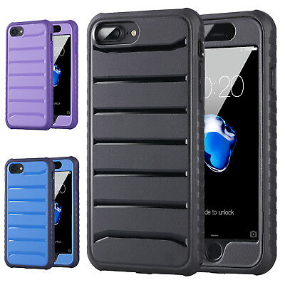 For iPhone 7 8 Plus Case Mosafe Heavy Duty Armor Shockproof Slim Hard Back Cover