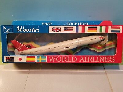 Wooster (W449) Virgin Atlantic A340-200 1:250 Scale Plastic Snapfit Model