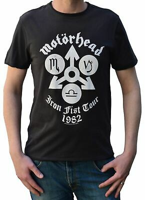 Amplified Officially Licensed Motorhead Iron Fist Tour Crew Neck T-Shirt