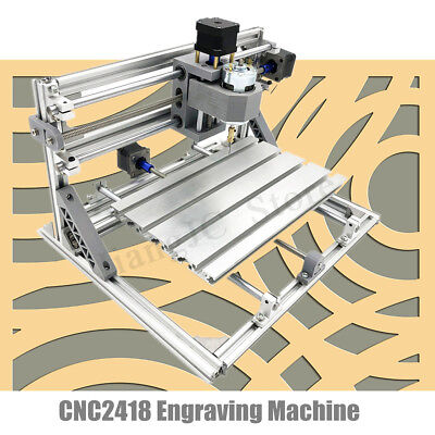 DIY 3 Axis Mini CNC Laser Machine PCB PVC Milling Wood Router Engraver Printer