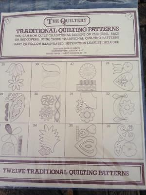 The Quiltery Traditional Quilting Patterns 12 Patterns Series Three  25-36