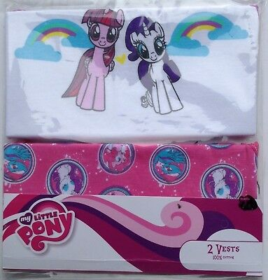 Girl's Ex Store 2 pack my little pony vests just 2.99 each
