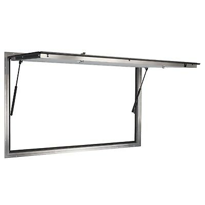 "Concession Stand Serving Window Door 53"" X 33"" Glass not included Food Trucks"