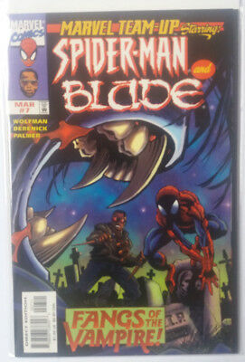 Marvel Team-Up Vol.2 Nr. 7 - Marvel Comics - 1998 - Spider-Man - Blade