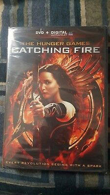 The Hunger Games Catching Fire dvd + digital - NEW