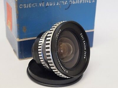 Carl Zeiss Jena Flektogon 20mm F4 M42 Screw Mount Lens, Boxed, Stock No u9049
