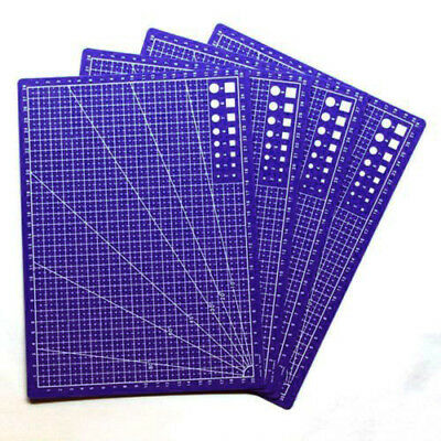 Plastic Cutting Plate Cutting Mat Pad Grid Lines Practical Board A4 Portable