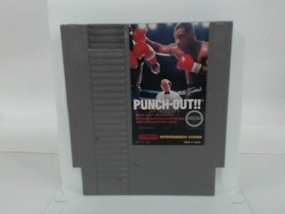 MIKE TYSON'S PUNCH-OUT NES Nintendo Good