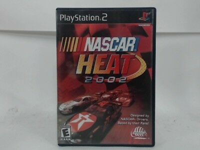 Nascar Heat 2002 Playstation 2 Ps2 Complete In Box W/ Manual Cib Very Good