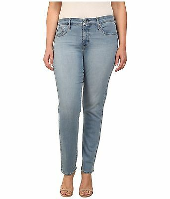 Levis 311 Skinny Jeans Womens Plus Size 24 Love Story Shaping Soft Stretch Denim