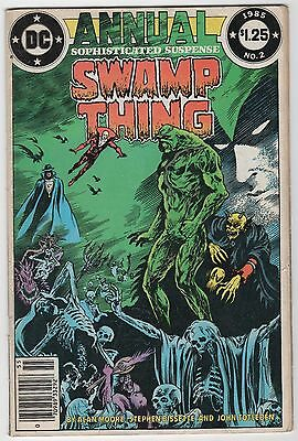 Swamp Thing Annual # 2 (DC, 1984) Alan Moore ~Justice League Dark ~ Newsstand