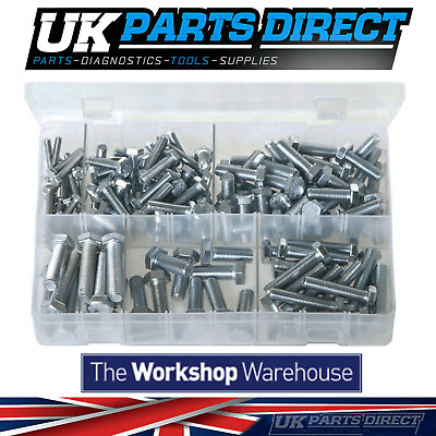 Assorted Box of Set Screws - High Tensile - UNF - 150 Pieces