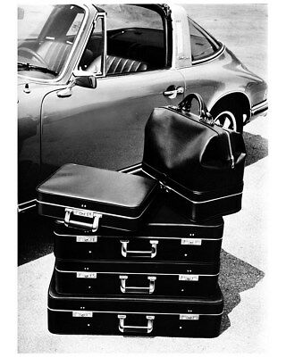 1972 Porsche 911 Targa Fitted Luggage Factory Photo cb1432