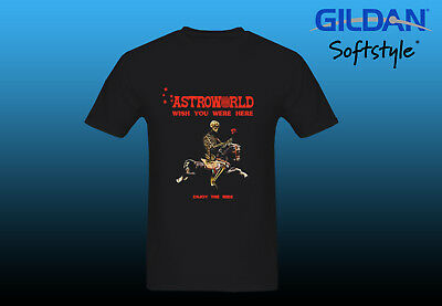 9ac5b52ffbd1 Hot Item Travis Scott Astroworld Enjoy The Ride T-Shirt just front design