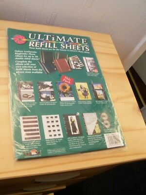 "10 Sheets Innova Ultimate 10"" x 8"" Photo Album Refill Q81R108 (1 x Pack of 10)"