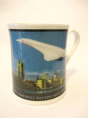Farewell To Concorde - 1969 - 2002 - Aynsley - Commemorative Porcelain Mug