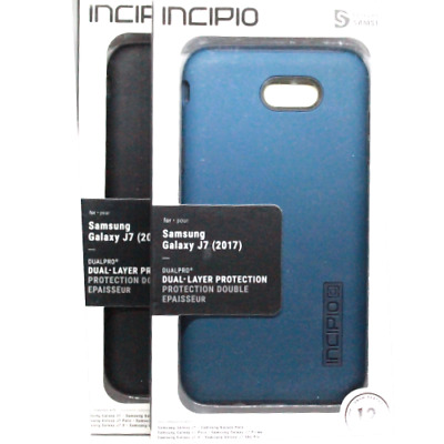 size 40 6ab69 55d99 INCIPIO FOR SAMSUNG Galaxy j7 (2017) Case DualPro Shockproof Hybrid Rugged  Cover