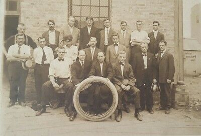 Federal Rubber Company of Cudahy Wisconsin Photograph Black White 1920's Tires