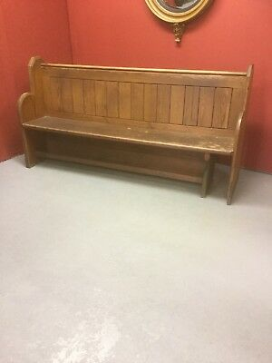 Antique Pine 6ft Church Pews X 7 Available