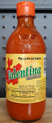 1 x Valentina Hot Sauce (370ml) Mexican