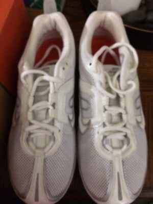 competitive price 7e1c9 a556b Nike Air Max Women s White Royal Blue Running Shoes - NEW ~ Size 7.5