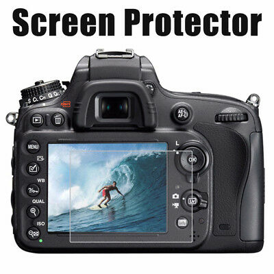LCD Premium Tempered Glass Screen Protector Film For Nikon Digital DSLR Camera