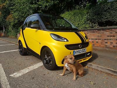 SMART FORTWO-COUPE CITYFLAME EDITION MHD Black Auto Petrol, 2013