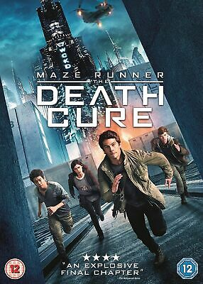 Maze Runner: The Death Cure - DVD - Sealed New Movie  Film - Disk - UK Stock