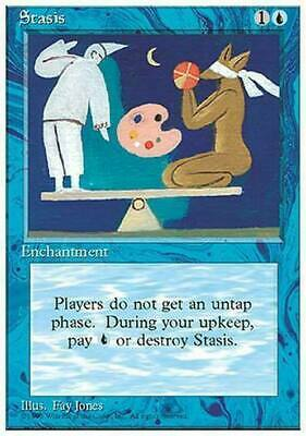 Stasis ~ 4th Edition ~ NearMint/Excellent+ ~ Magic The Gathering MTG