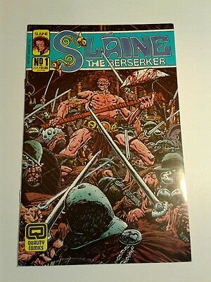 slaine the berserker from quality comics in1987 1,2-13,16-22,25,26 7.5 to 9.2