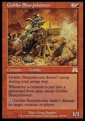 Goblin Sharpshooter ~ Onslaught ~ Excellent+ ~ Magic The Gathering