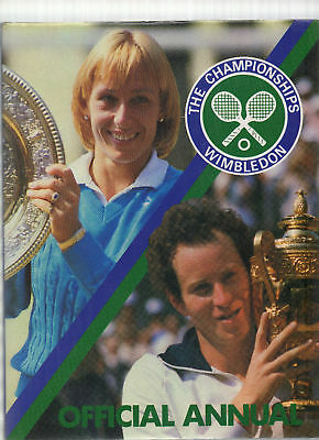 The Official Wimbledon Tennis Annual 1984 1St Ed Hb Dj