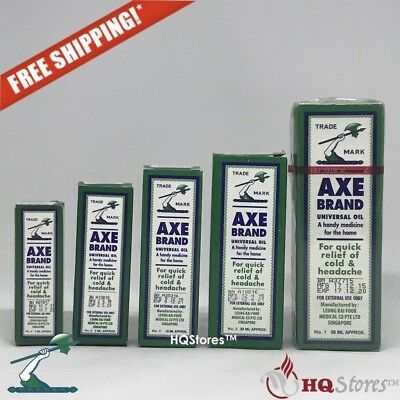 Authentic AXE Brand Universal Oil Cold Headache Insect Bites Relief Singapore
