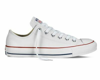 6ad72eb63110 CONVERSE CHUCK TAYLOR All Star OX 132173C Leather Trainers White ...