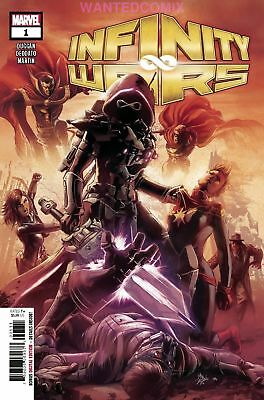 Infinity Wars #1 (Of 6) August 2018 Marvel Comic Book Thanos Avengers Requiem