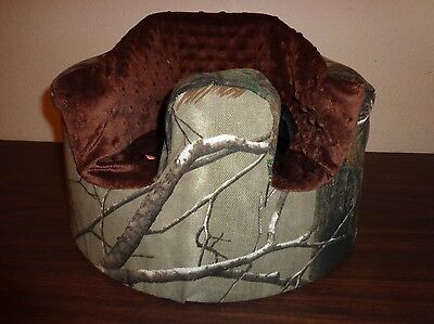 New Bumbo Floor Seat COVER - Realtree Camo - Safety Strap Ready